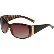 KENNETH COLE REACTION Zebra Airbrushed Arms [KC1156], Tortoise - Sunglasses - $15.00