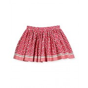 Kate Spade New York Girl's Floral‑Print Pleated Cotton Skirt - Skirts - $32.00