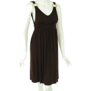Kenneth Cole Low Back Cover Up Brown - Dresses - $27.93