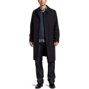 Kenneth Cole Men's Kennedy Single Breasted Zip Out Lined Raincoat Carbon - アウター - $219.99  ~ ¥24,760
