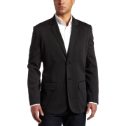 Kenneth Cole New York Men's Two Button Blazer Black Combo - ジャケット - $129.99  ~ ¥14,630