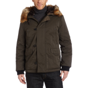 Kenneth Cole New York Mens Hooded Parka Pinetree - Jaquetas e casacos - $249.50  ~ 214.29€