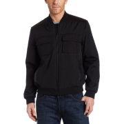 Kenneth Cole New York Mens Mixed Media Jacket Black - アウター - $198.50  ~ ¥22,341
