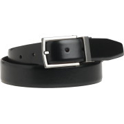 Kenneth Cole REACTION Men's U-Turn Reversible Leather Belt Black - Belt - $25.00