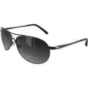 Kenneth Cole Reaction KC1070 Aviator Sunglasses Shiny Dark Gunmetal - Óculos de sol - $29.99  ~ 25.76€