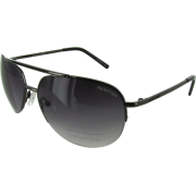 Kenneth Cole Reaction KC1110 Rimless Aviator Sunglasses Shiny Dark Gunmetal - サングラス - $29.99  ~ ¥3,375