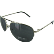 Kenneth Cole Reaction KC1110 Rimless Aviator Sunglasses Shiny Silver - サングラス - $29.99  ~ ¥3,375