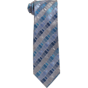 Kenneth Cole Reaction Men's Fulton Geo Neck Tie Aqua/teal - Tie - $17.50