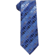 Kenneth Cole Reaction Men's Fulton Geo Neck Tie Blue - Tie - $26.99