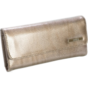 Kenneth Cole Reaction Patent Tri Me a River Wallet Pewter - Wallets - $29.99