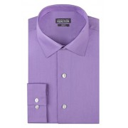 Kenneth Cole Reaction Men's Chambray Slim Fit Solid Spread Collar Dress Shirt - Shirts - $19.98
