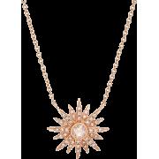 Kenza Lee Sunburst Necklace - Halsketten -