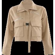 Khaki tooling jacket female bf wind loos - Jakne i kaputi - $29.99  ~ 25.76€