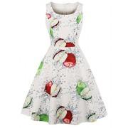 Killreal Women's Vintage Scoop Neck Sleeveless A-line Cocktail Party Dress - Haljine - $15.99  ~ 101,58kn
