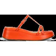 LABUCQ orange sandal - Sandals -