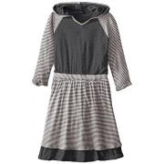 LAmade Big Girls' Hooded Raglan Dress - Dresses - $52.78
