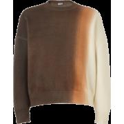 LOEWE Cropped Sweater Tie & Dye - Pullovers -
