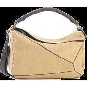 LOEWE Puzzle suede shoulder bag - Carteras -