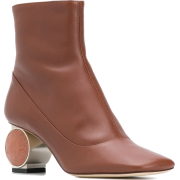 LOEWE ornament ankle boots - Botas - $1.20  ~ 1.03€
