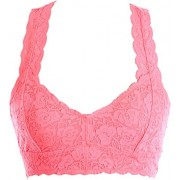 Lace Racerback Bralette Crop Top - Underwear - $19.99