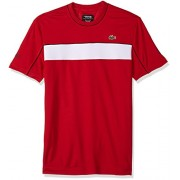 Lacoste Men's Short Sleeve Jersey Tech With Novak Graphic T-Shirt, TH3333 - T-shirts - $34.67