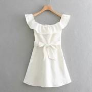 Laminated decorative dress - Dresses - $27.99