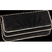 Lauren Merkin Allie Piping Clutch Black - Clutch bags - $250.00