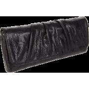 Lauren Merkin Caroline Clutch Black - Clutch bags - $250.25