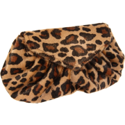 Lauren Merkin Diana Leopard-Print Clutch Camel/Gold - Clutch bags - $295.00