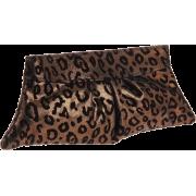 Lauren Merkin Eve Disco Leopard Clutch Bronze - Clutch bags - $180.00
