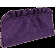 Lauren Merkin Georgie Clutch Purple - Clutch bags - $250.00
