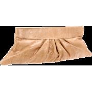 Lauren Merkin Louise Clutch Beige - Clutch bags - $186.32