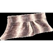 Lauren Merkin Louise Clutch Brown/White - Clutch bags - $186.32