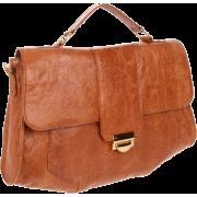 Lauren Merkin Marlow Satchel Cognac - Bag - $477.75