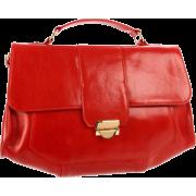 Lauren Merkin Marlow Satchel Red - Bag - $434.75