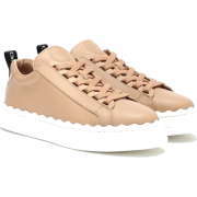 Lauren Leather Sneakers - Chloé | mythe - Uncategorized -