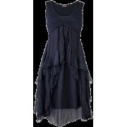 Layered Grey Dress - Haljine -