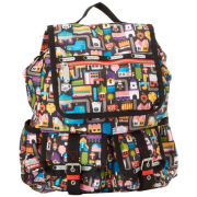 LeSportsac Double Pocket Backpack Urban Fruit - Mochilas - $138.00  ~ 118.53€