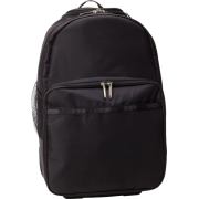 LeSportsac Luggage Rolling Backpack Black TR - Backpacks - $180.00