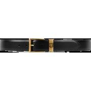 Leather Belt With Feline Head - Cinture - $450.00  ~ 386.50€