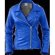 Leather Skin Women Blue Brando Genuine L - Chaquetas - 189.99€