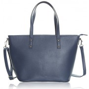Leather Tote Bag - Shoulder Bag for Women, Top Handle Satchel Purse With Top Zipper Closure - Hand bag - $32.95