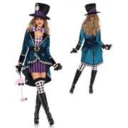 Leg Avenue Women's Delightful Mad Hatter Halloween Costume - My look - $38.71