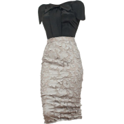 Lei Lou bluza kratki rukav - Dresses -