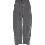 Lemaire Twisted Chino Pants in gray - Capri & Cropped -