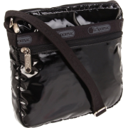 Lesportsac Shellie Cross Body Black Patent - Bolsas - $34.99  ~ 30.05€