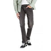 Levi's Men's Line 8 Slim Straight Mid Grey Destruction Jeans, Grey - Pants - $70.95