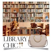 Library Chic: Chloe Statement Bag - Mój wygląd -