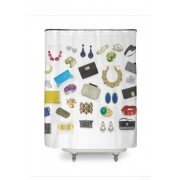 Life's Little Luxuries Shower Curtain - Uncategorized -