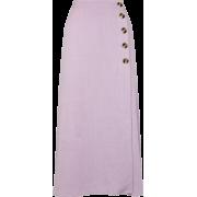 Lilac Midi Skirt - Skirts -